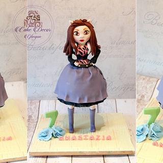 Monster High-Clawdeen 3D cake - Cake by Kalina