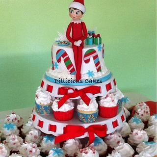 Elf on a Cake