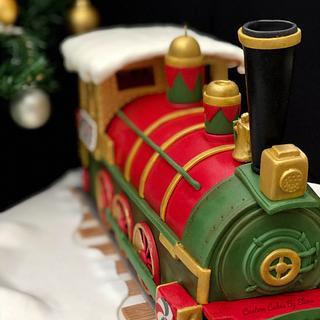 Choco-choo Train Cake