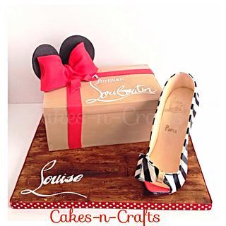 Louboutin box and sugar shoe