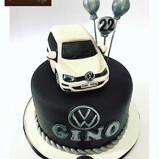 Car cake - Cake by  Vale Logroño