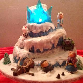 Frozen cake - Cake by Lucy