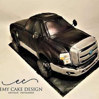 Dodge f350 form cake - Cake by EmyCakeDesign