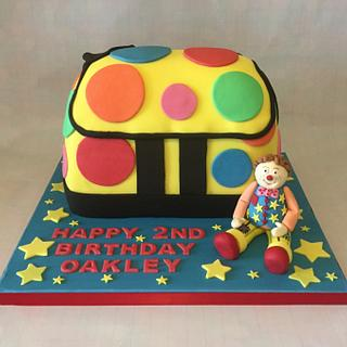 My boys Mr Tumble 2nd birthday cake