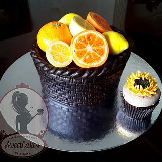 Lemons & Oranges Basket !