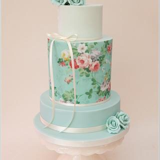 'Bella' Wedding cake