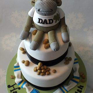 PG Tips Monkey Cake