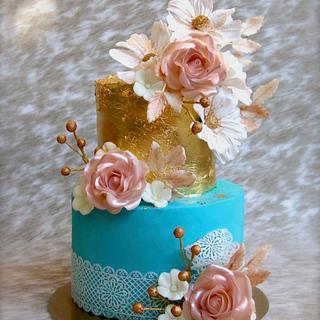 Wedding cake - Cake by Veronica22