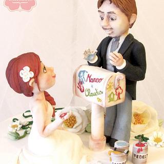 My Wedding Cake!!!  - Cake by Fatto di Zucchero