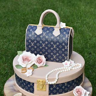 Louis Vuitton cake - Cake by Dolcidea creazioni