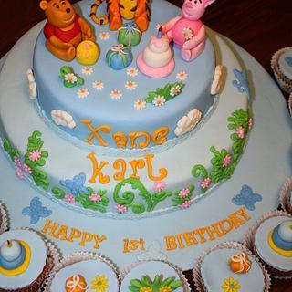 Winniie the Pooh Cake