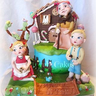 Hansel e Gretel  - Cake by Lovely Cakes di Daluiso Laura