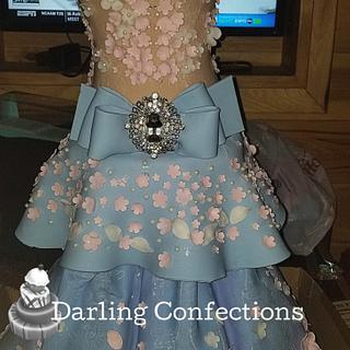 My Birthday Cake - Ballgown Dress - Cake by Jacqulin