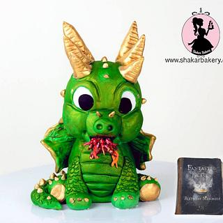 Romanian Longhorn Dragon- Fantastic Beasts and Where To Find Them Birthday Mischief Collaboration