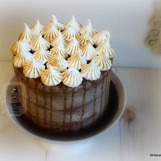 Chocolate Cake On Fire!