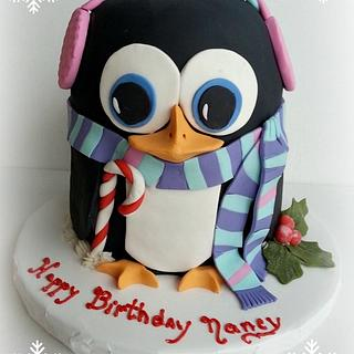 A Christmas Eve Birthday Cake