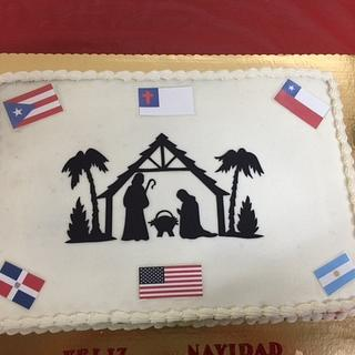 Christmas Through out Latin America - Cake by Julia