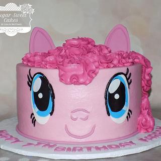 Pinkie Pie - Cake by Sugar Sweet Cakes