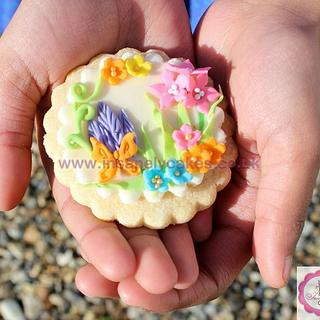 Pretty Floral all butter cookies