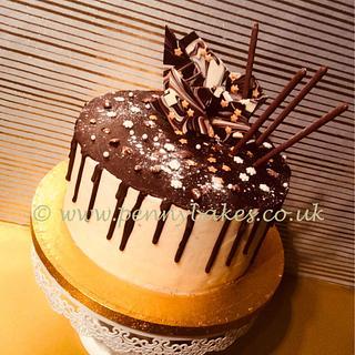Christmas drippy cake - Cake by Penny Sue