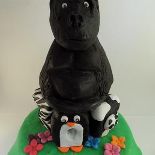Animal right cake