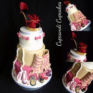 Fashionista cake - Cake by Cupcandi Cupcakes