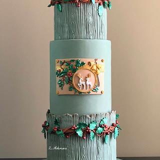 Christmas cake!... - Cake by More_Sugar