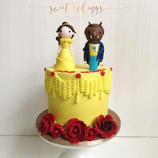 Belle and the Beast - Cake by Lulu Goh