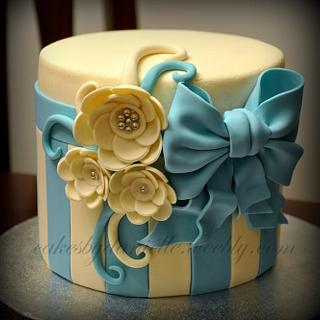 Flowers and Bows - Cake by CBD