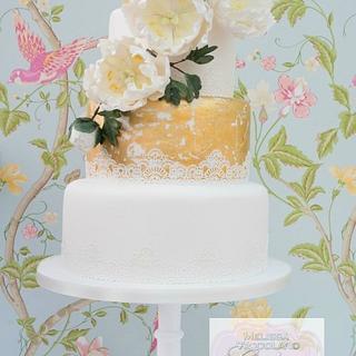 Vintage Glamour - Cake by Melissa Woodland Cakes