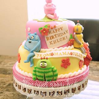 Yo Gabba Gabba Cake - Cake by Kara's Custom Design Cakes