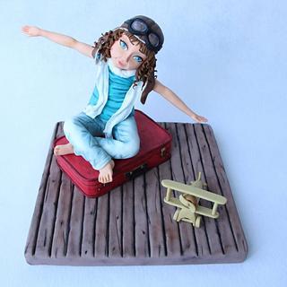 """El viaje de Alison """" Sweet summer collaboration  - Cake by Floren Bastante / Dulces el inflón"""