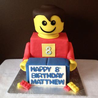 Lego Man Cake - Cake by Cakes by Jo-Anne