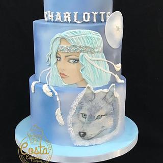 Spirit guide cake