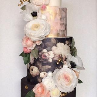 Signature HTC Wafer Paper Show Cake - Cake by Stevi Auble