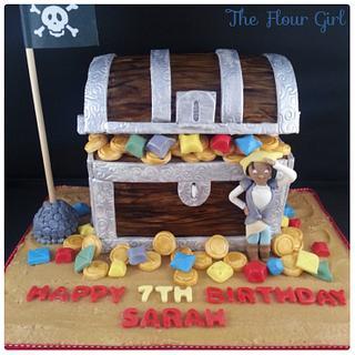 Swashbuckle Cake - Cake by The Flour Girl UK
