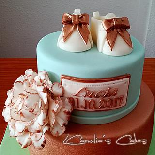 FIGURES with FONDANT for BABY SHOWER