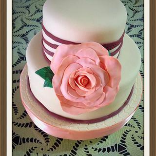 Wedding cake - Cake by Angela de Ramos