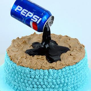 anti-gravity cake - Cake by Alex