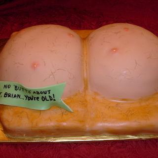 Naughty/Gross Out Alert...Brian's Butt