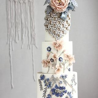 BEAN PASTE wedding cake