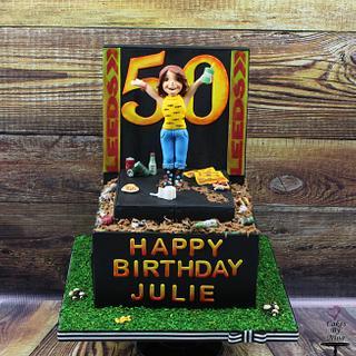 Leeds fest cake - Cake by Nina