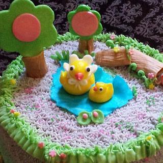 Ducky MUM n Son! warmth of mum's love.