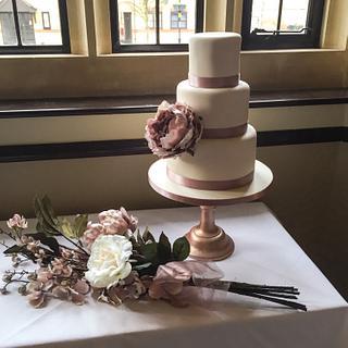 Sian and Nicks Wedding Cake