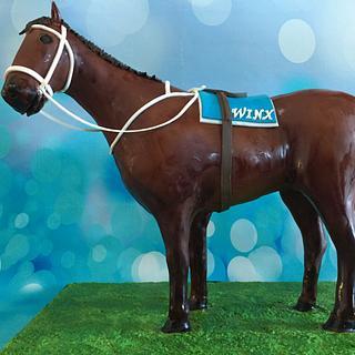 Winx Racehorse  - Cake by Elke Potter