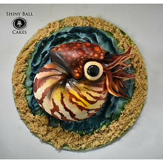 Nemo the Nautilus  - Cake by Shiny Ball Cakes & Creations (Rose)