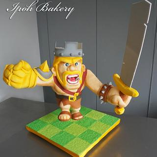 The Barbarian King from COC