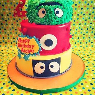 Yo Gabba Gabba - Cake by Heidi