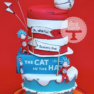 The Cat in the Hat - Cake by Lesley Wright