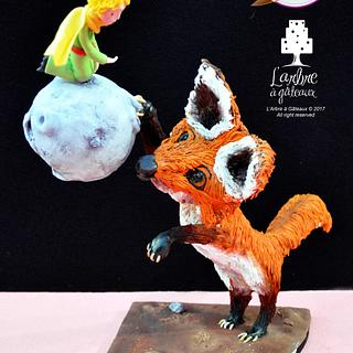 The little Prince and the fox - Le Petit Prince et le renard